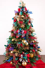 room decor upside down christmas tree decorating ideas colorful