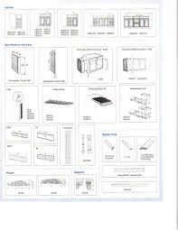 Standard Kitchen Cabinet Width Kitchen Remodel Kitchen Cabinet Dimensions Standard Drawing