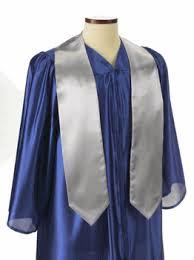 honor stoles silver graduation honor stoles