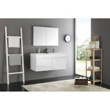 48 White Bathroom Vanity Mezzo 48