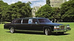 the original donald trump limo the 1989 cadillac trump golden series