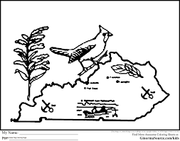 Usa Printables State Of Indiana Coloring Pages Indiana For Flag Color Page