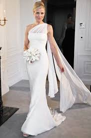 the shoulder wedding dresses best 25 one shoulder wedding dress ideas on one