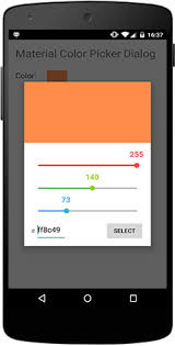 java android color picker stack overflow