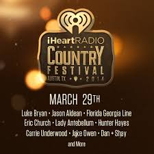 clear channel announces iheartradio country music festival