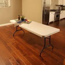 8 foot lifetime table lifetime almond 8 ft folding table 22984 the home depot