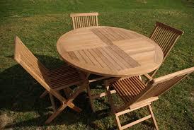 teck grade a emejing table de jardin teck design contemporary amazing house