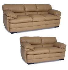 stylish tan leather sofa dalton tan leather sofa and loveseat