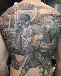 coloseum gladiator u2013 inkredible ink tattoo