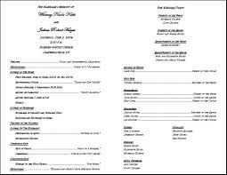 catholic wedding ceremony program 30 images of catholic wedding program template microsoft