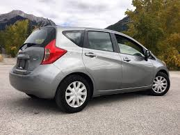 grey nissan versa 2014 nissan versa note for sale in canmore alberta t1w 1l4