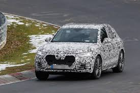 2018 audi q6 e tron quattro suv spied photos 2018 auto review