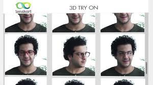 lenskart com 3d try on try frames online youtube