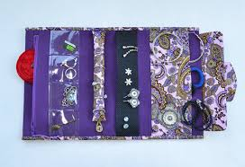 necklace holder case images Jewelry roll travel case jewelry organizer jewellery holder jpg