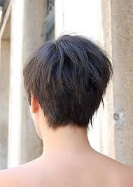 short hairstyle back view images asymmetrical short bob hairstyles back view new hairstyles