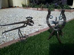 mexican horseshoes metal garden ideas metal garden horseshoe crafts horseshoe