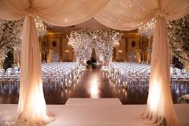 weddings in chicago glamorous ivory blush wedding at a club in