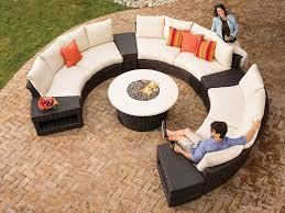 Round Sofa Set Designs Affordable Outdoor Sectional Furniture Curved Outdoor Sectional