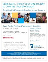 career fair for people and veterans with disabilities is