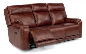 Reclining Leather Sofa - Leather chairs and sofas