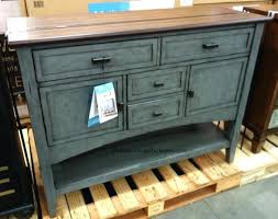bayside furnishings accent cabinet bayside furnishings accent cabinet in multi tone blue for console