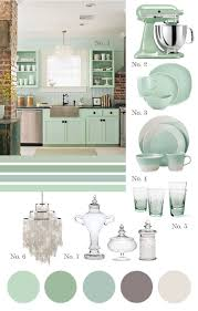 Turquoise Kitchen Decor by The 25 Best Mint Green Kitchen Ideas On Pinterest Mint Kitchen