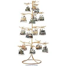 ornament holder gold wire ornament tree display