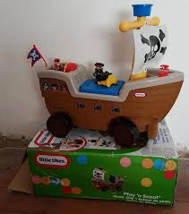 Little Tikes Pirate Ship Bed Little Tikes Play U0027n Scoot Pirate Ship Ride On Toy In Newhaven