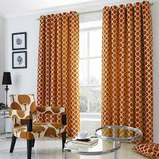 Orange And Brown Curtains Skillful Ideas Orange And Brown Curtains Curtain Curtains Ideas