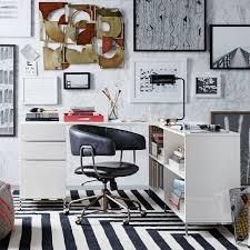 west elm white bookcase lacquer storage desk set box file bookshelf west elm