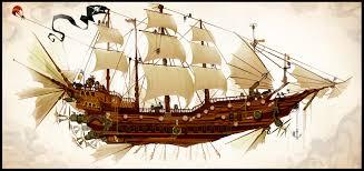 the clockwork pirateship by chasingartwork on deviantart