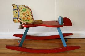 Vintage Rocking Chair For Nursery Multi Wood Rocking Horse 1 Picked Vintage Baby Fisher