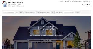 20 best free real estate website templates for real estate companies