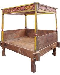 antique canopy bed spring shopping deals on rare sino tibetan canopy bed painted