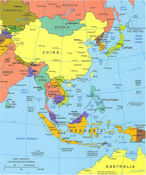 asia political map asia political map