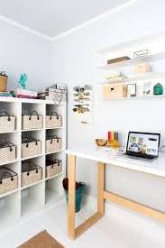 Ikea Hack Standing Desk by One Room Challenge The Home Office Before And After Reveal