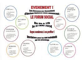 humanis si e social forum social pour les salariés du magasin auchan cftc valence