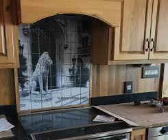 Kitchen Tile Backsplash Murals Custom Tiles And Tile Mural Pictures Custom Tile Murals