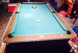 brunswick 7ft pool table pool table brunswick hawthorn classifieds buy sell pool table