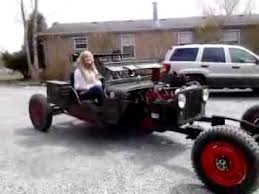 zombie hunter jeep 1946 zombie hunter rat rod test drive2 youtube