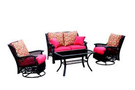 Backyard Creations Furniture - backyard creations allenwood 4 piece deep seating patio set at
