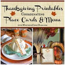 15 thanksgiving seating cards to impress your guests