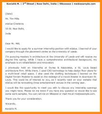 cover letter internship opening 10 sample of official cover letter kenya azzurra castle grenada