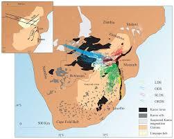 Parana River Map Karoo