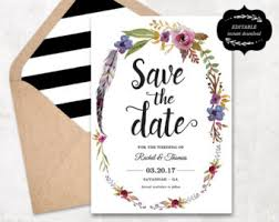 inexpensive save the dates cheap save the date etsy