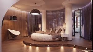 Wandgestaltung Schlafzimmer Bett Futuristische Schlafzimmer Rundes Bett Schlafzimmer Pinterest