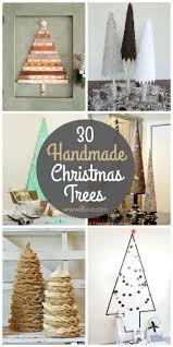 handmade christmas 30 beautiful handmade christmas tree tutorials see it on lilluna jpg