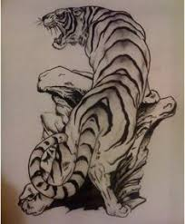 white tiger traditional tattoo ink me pinterest traditional