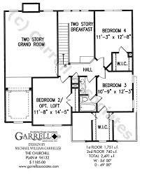 Churchill House Plan House Plans By Garrell Associates Inc 12 Bedroom House Plans