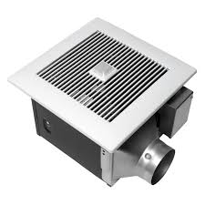 qtx series quiet 150 cfm ceiling exhaust bath fan with light and